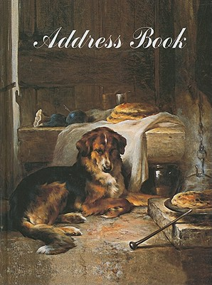 Dog Painting Address Book By Antique Collectors Club (COR)